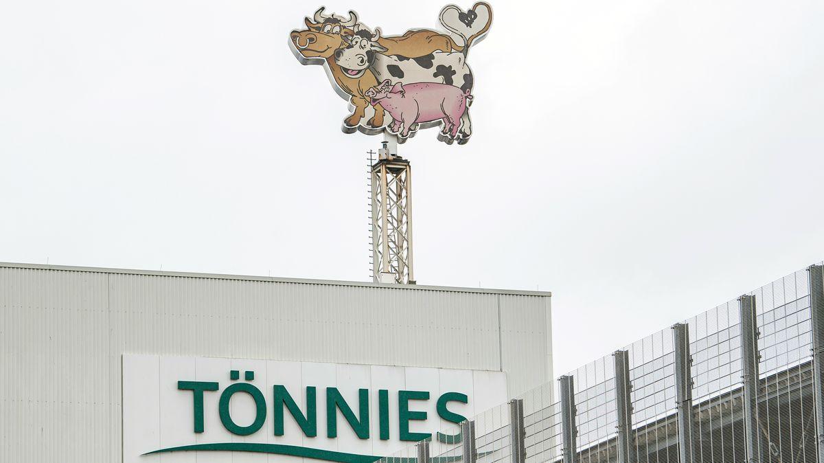 Das Fleischwerk Tönnies in Rheda-Wiedenbrück.
