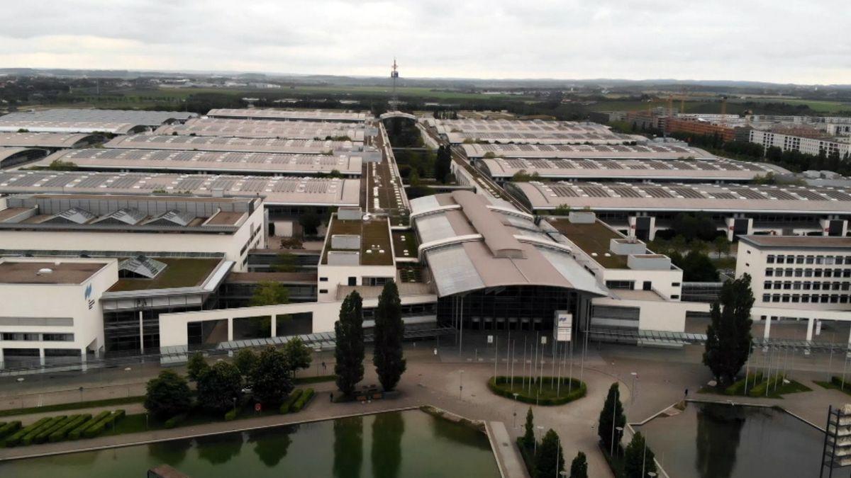 Messegelände München - Luftbild