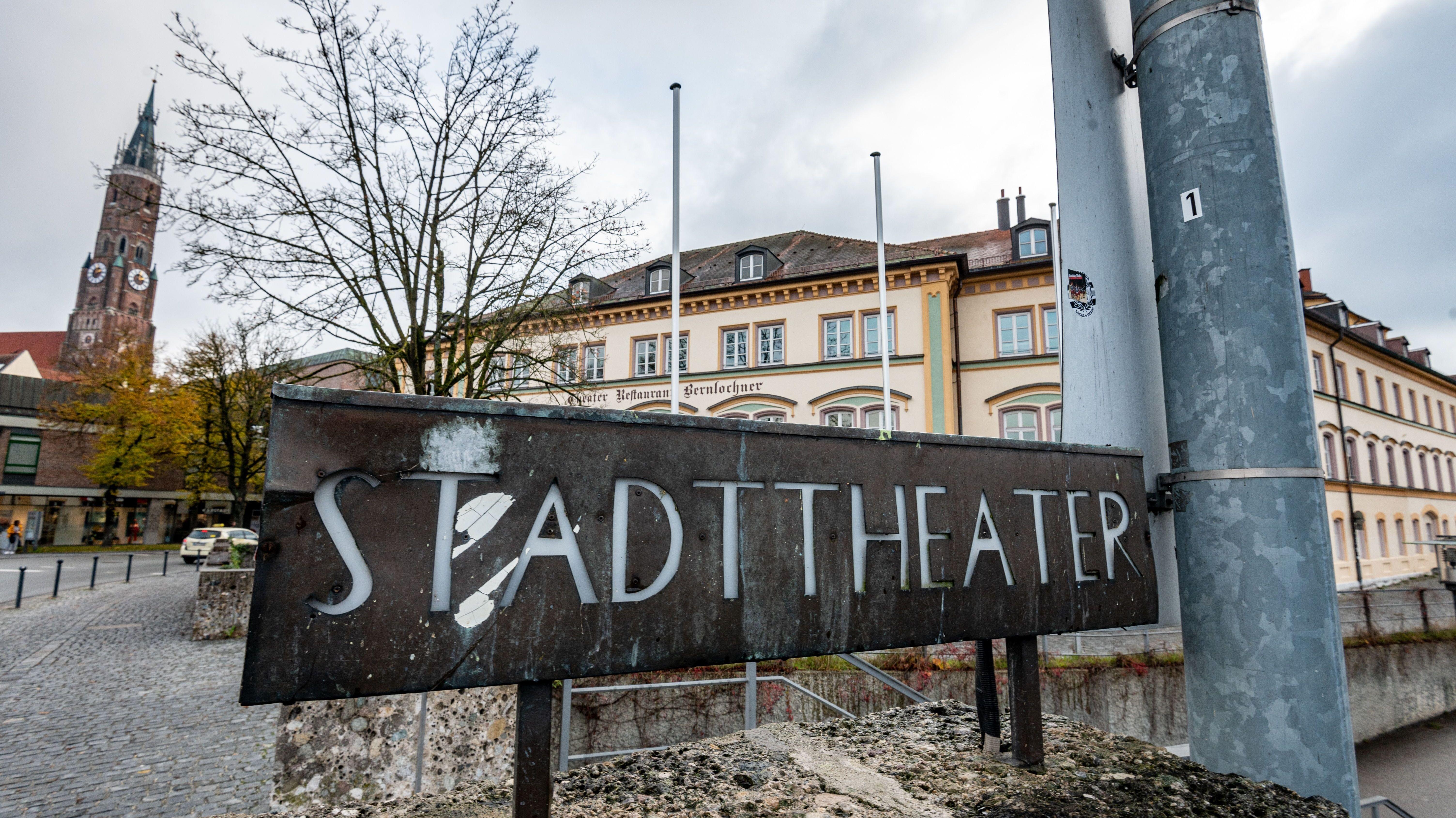 Das Stadttheater in Landshut