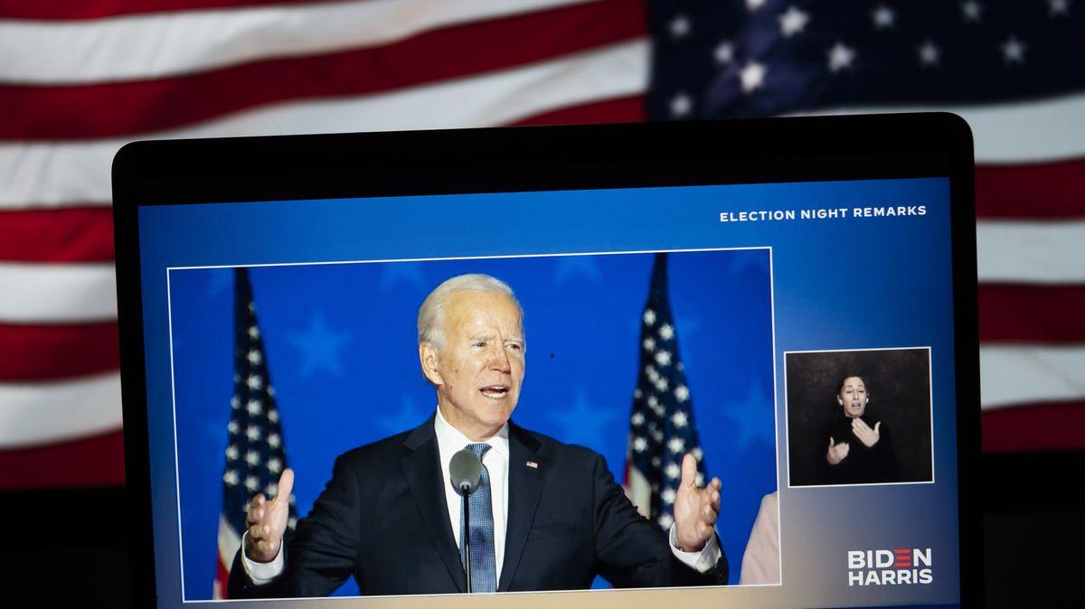 Biden ermuntert demokratische Wähler und gibt sich siegessicher