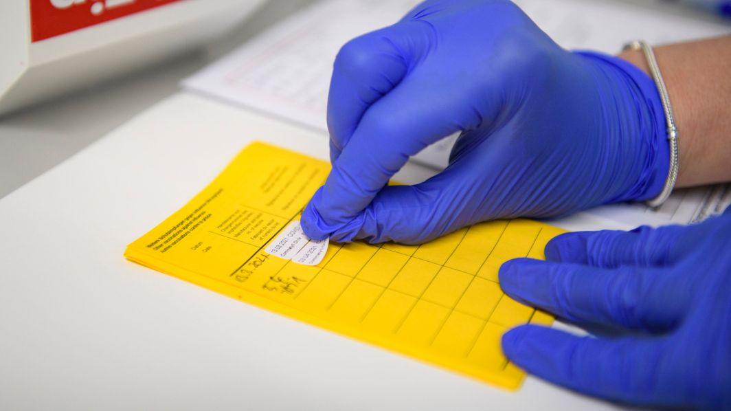Informationen über die Impfung werden im Impfpass eingetragen (Symbolbild).