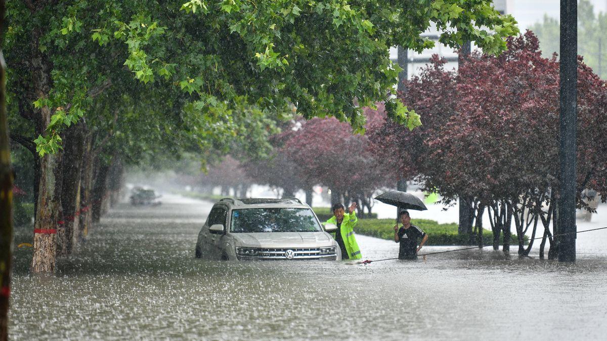 Schwere Überschwemmungen in China