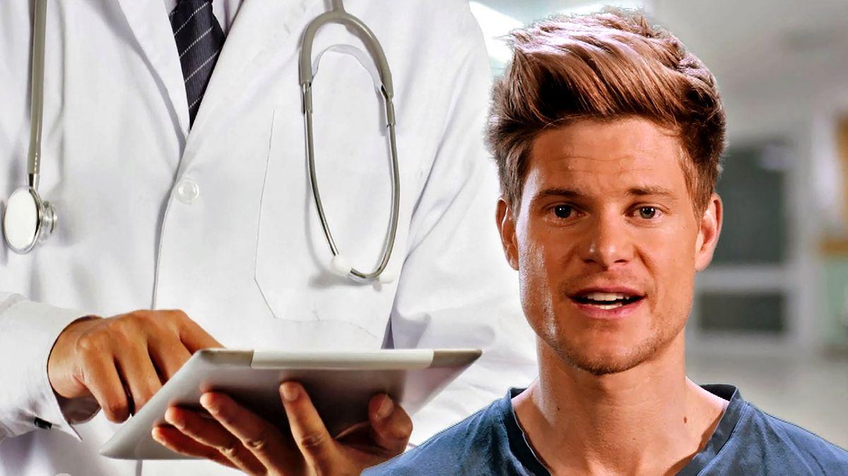 Philip und Arzt mit Tablet