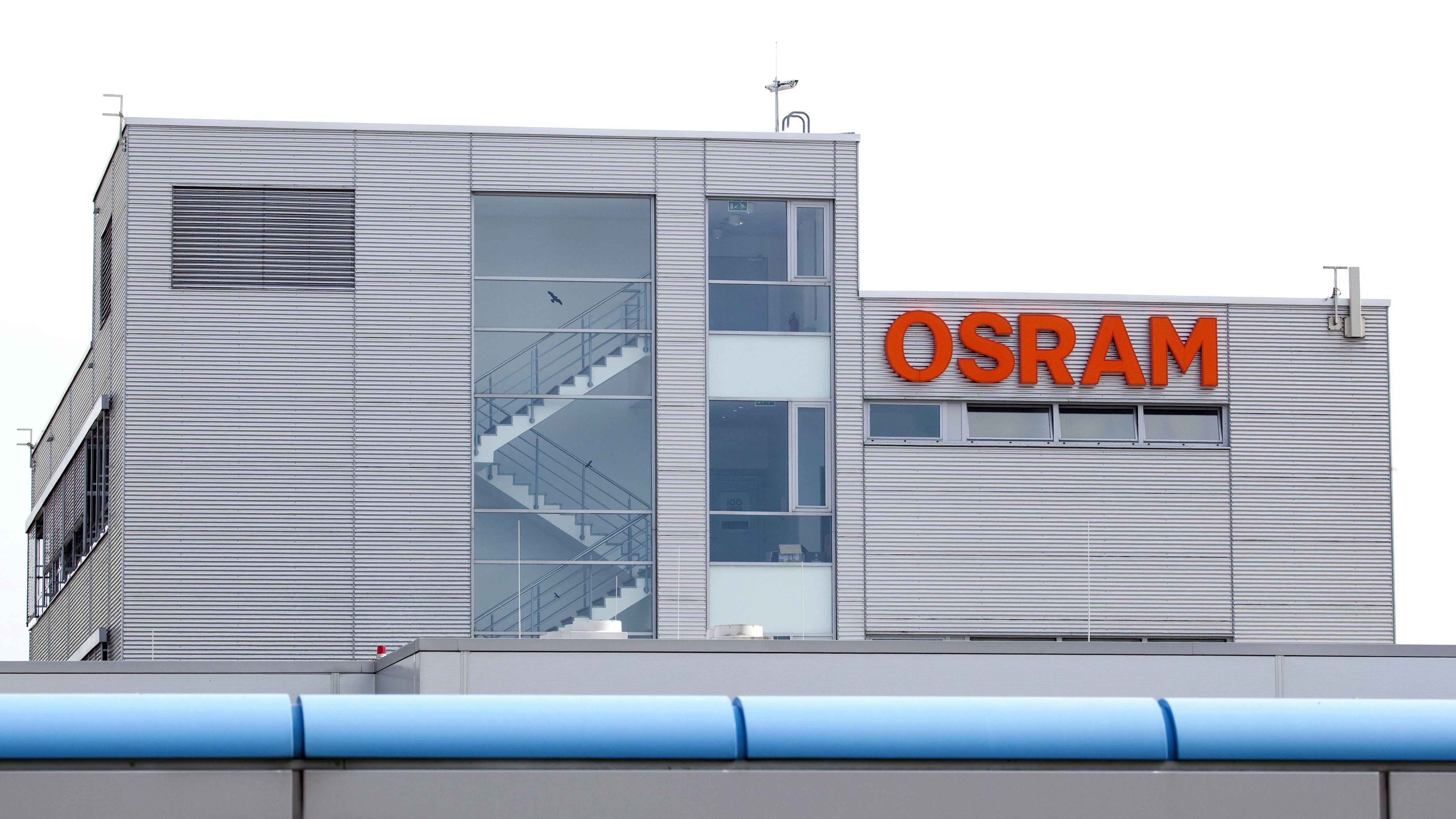 Produktionsstandort von Osram Opto Semiconductors in Regensburg