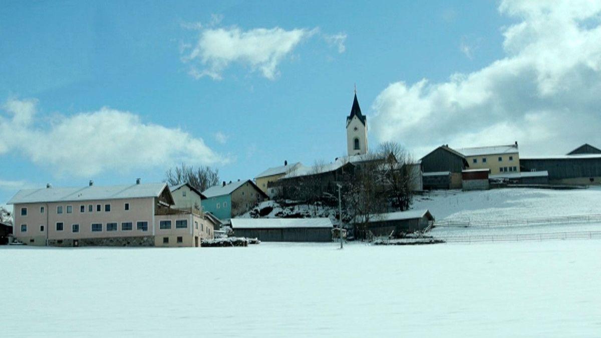 Eschlkam im Schnee: Nicht nur ein Idyll - für Bürgerengagement bietet sich mancher Anlass