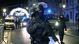 Polizeiabsperrung in Straßburg   Bild:pa / dpa / Jean-Marc Loos