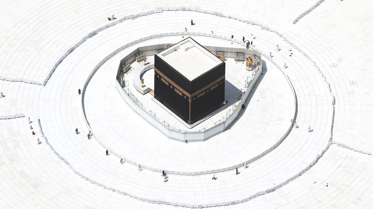 Die Kaaba, das zentrale Heiligtum des Islam.
