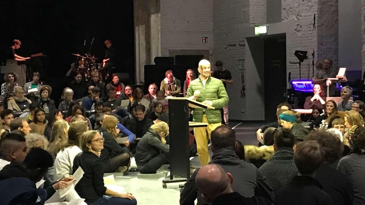 Freies Theater Festival Liminale in Nürnberg: Eröffnungsabend