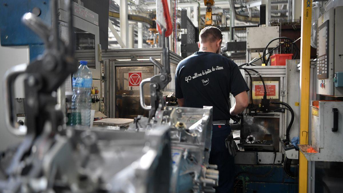 PSA-Produktion in Frankreich