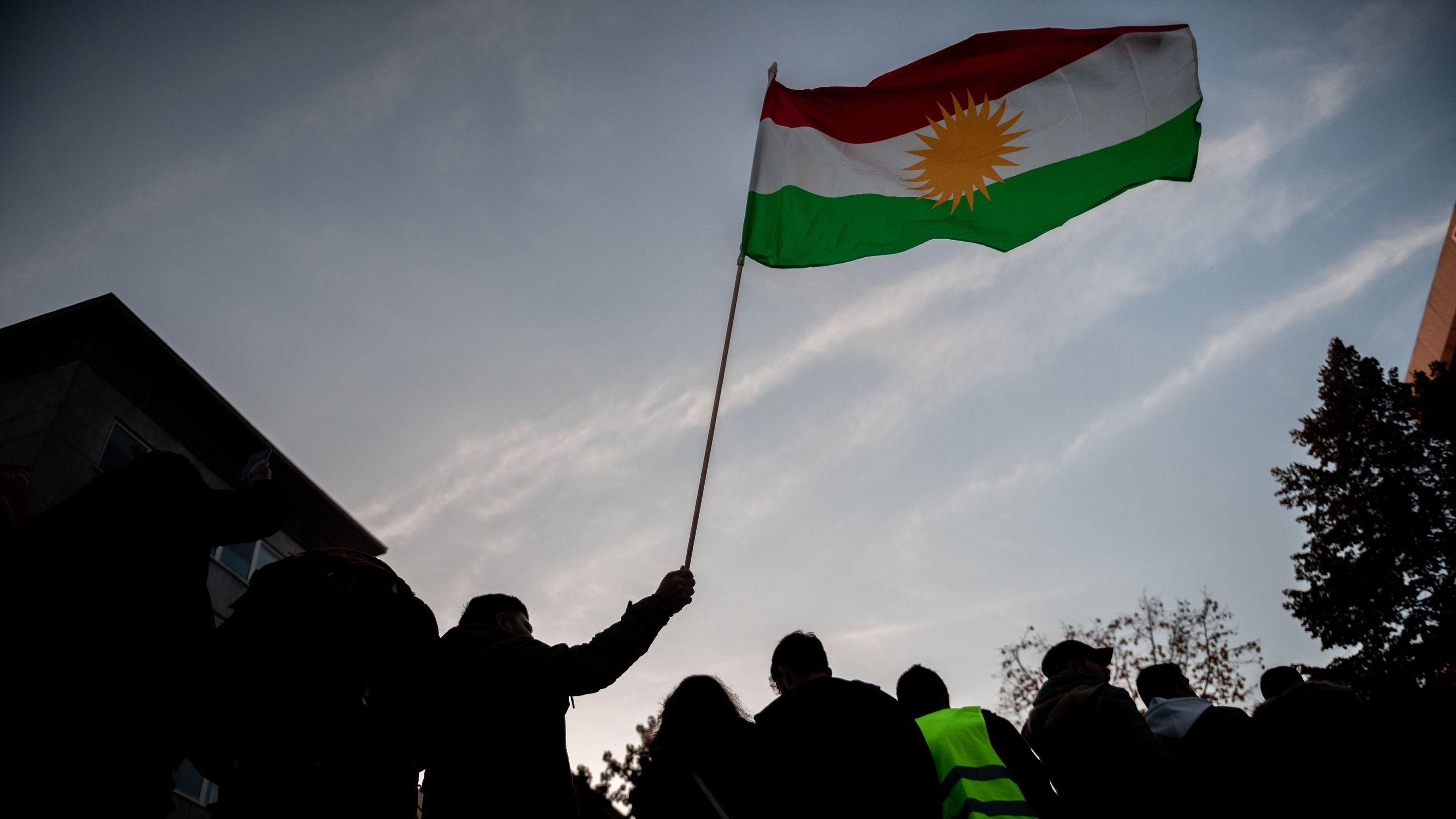 Symbolbild - Kurden in Nordrhein-Westfalen demonstrieren gegen die türkische Militäroffensive in Syrien