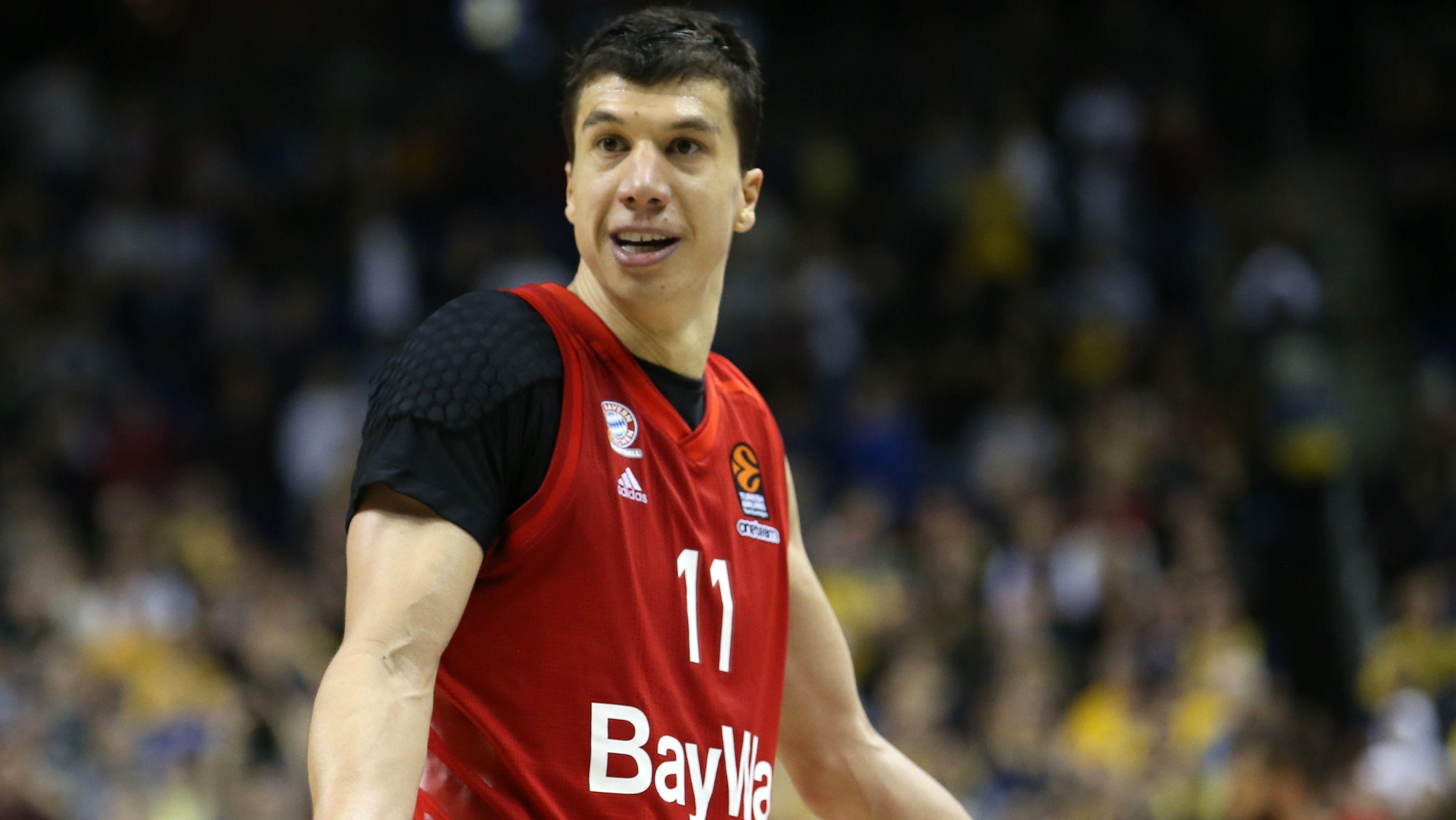 Vladimir Lucic vom FC Bayern Basketball