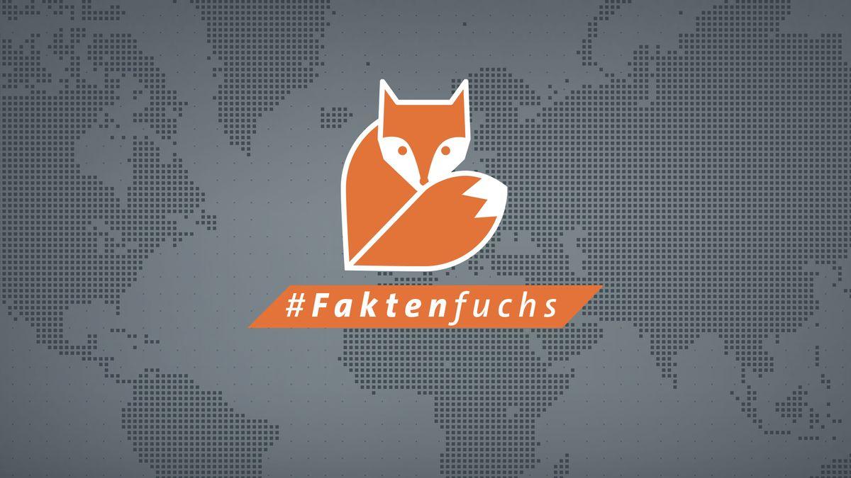 Logo des BR24 #Faktenfuchs, der Faktenchecker-Einheit des BR