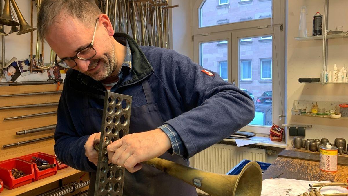 Instrumentenbauer Christoph Endres aus Nürnberg