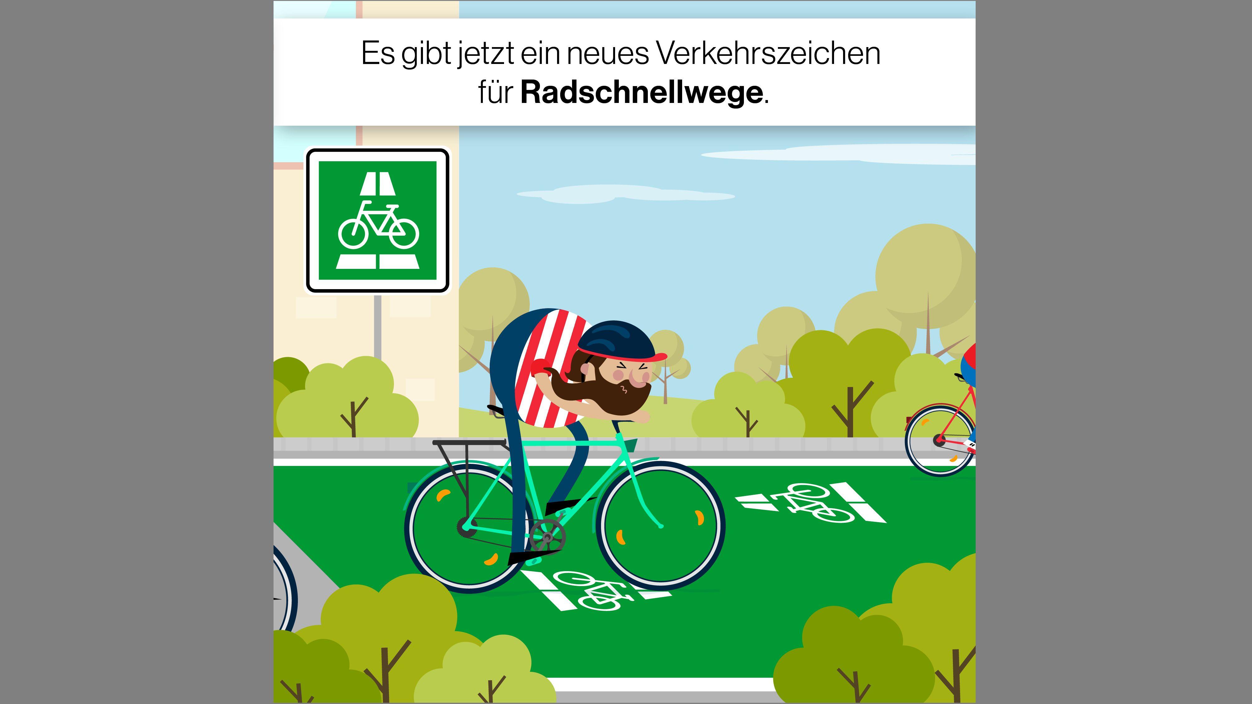 Grafik: Einführung von Radschnellwegen