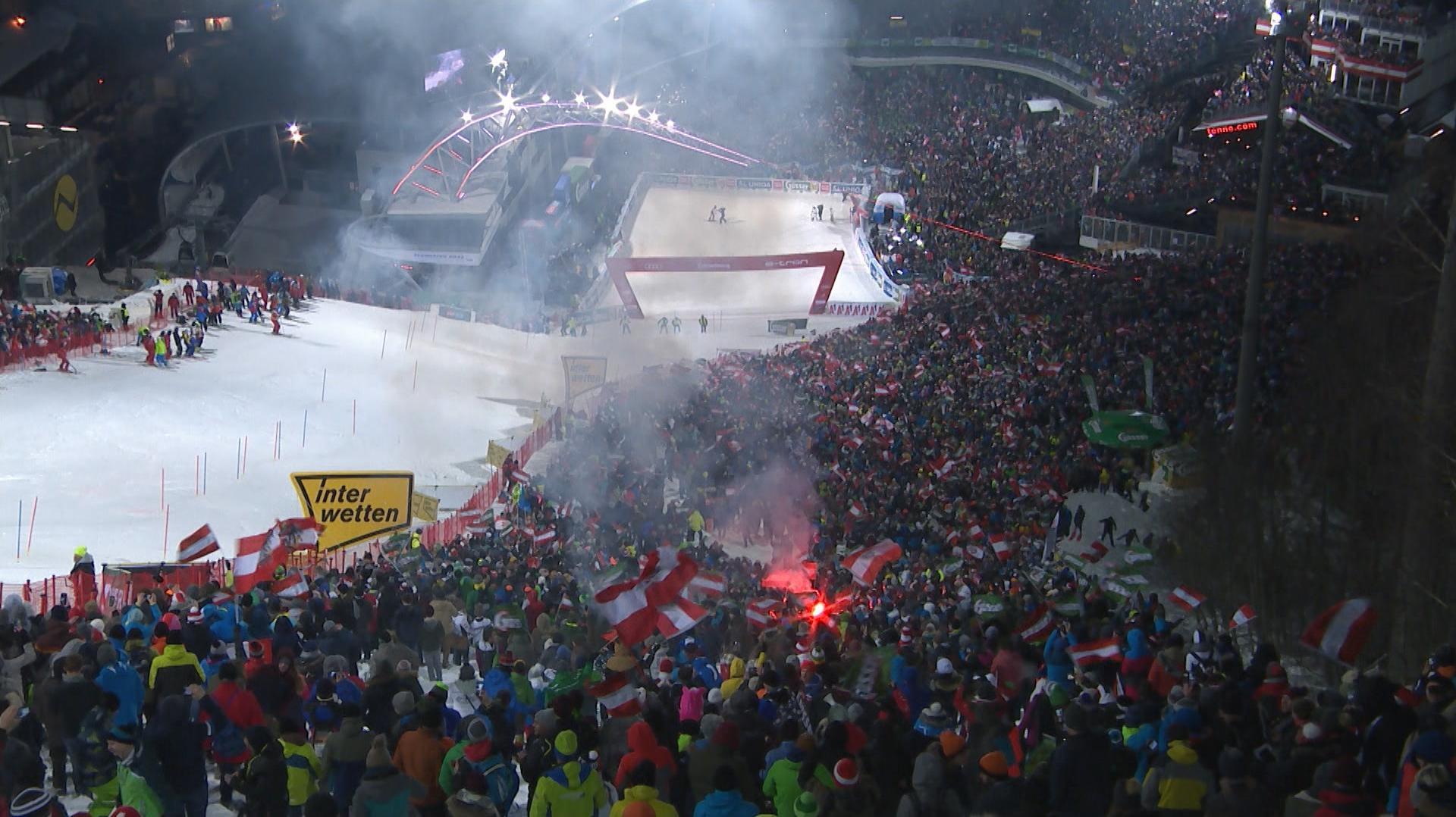 Weltcup-Nachtslalom : Das Night-Race von Schladming - Emotionen pur