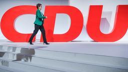 Annegret Kramp-Karrenbauer, Bundesvorsitzende der CDU | Bild:pa/dpa