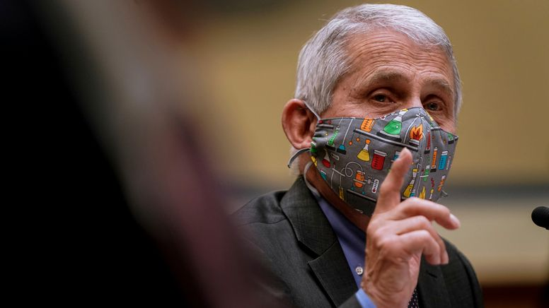 Immunologe Anthony Fauci    Bild:picture alliance / ASSOCIATED PRESS   Amr Alfiky