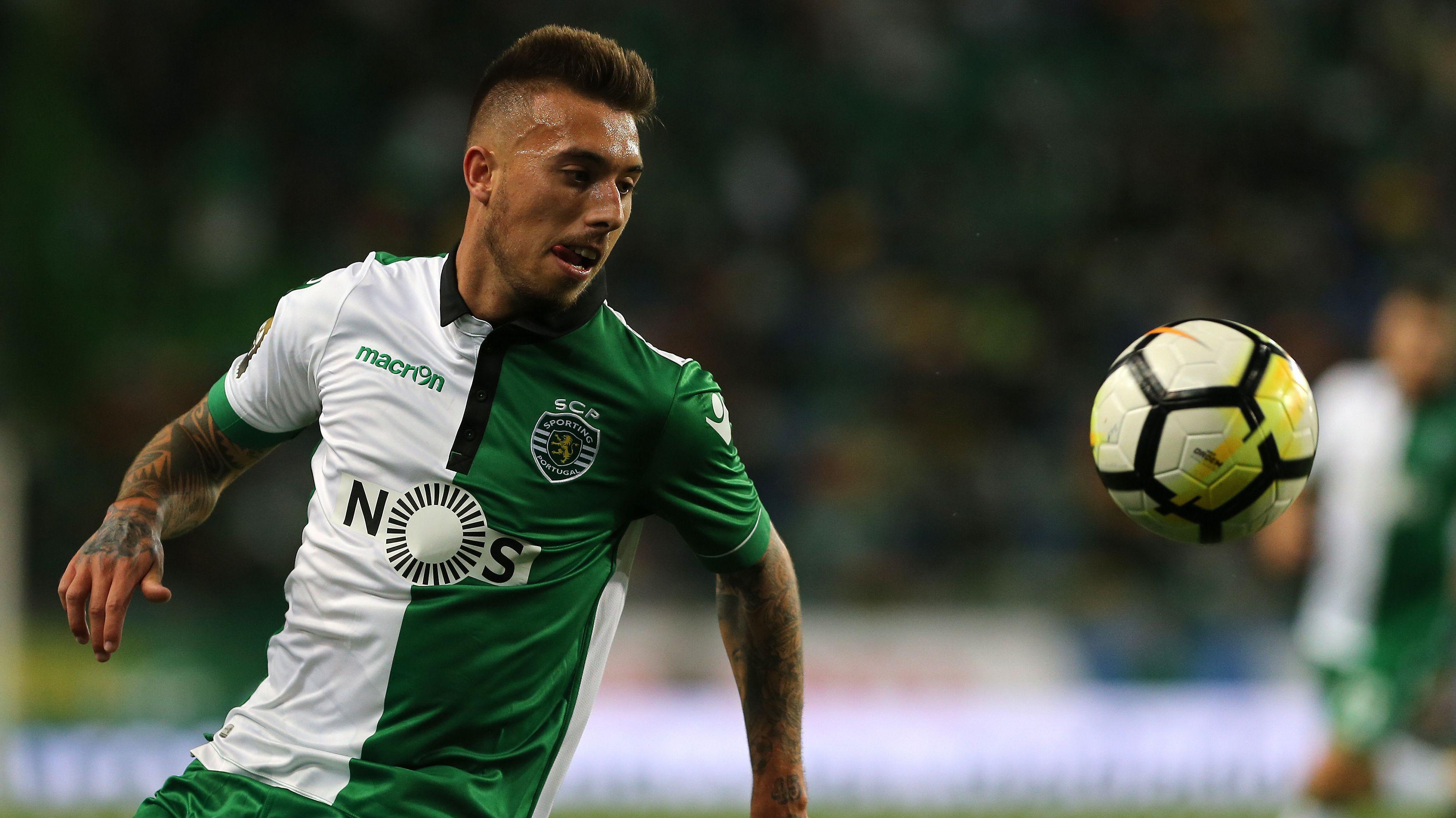Iuri Medeiros 2017 im Trikot von Sporting Lissabon