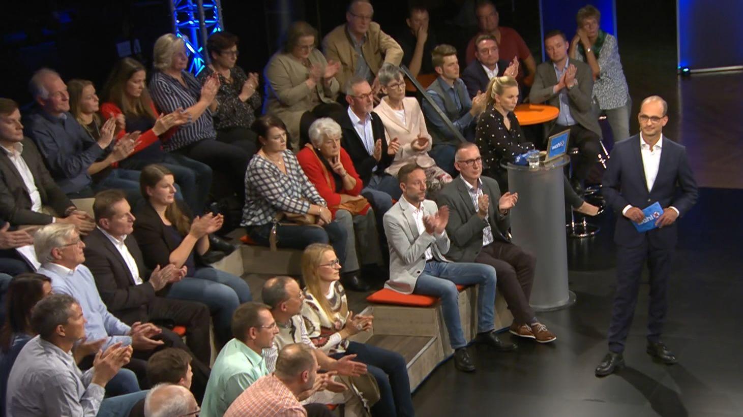 BR-Chefredakteur Christian Nitsche moderiert die BR Wahlarena am Abend in Passau.