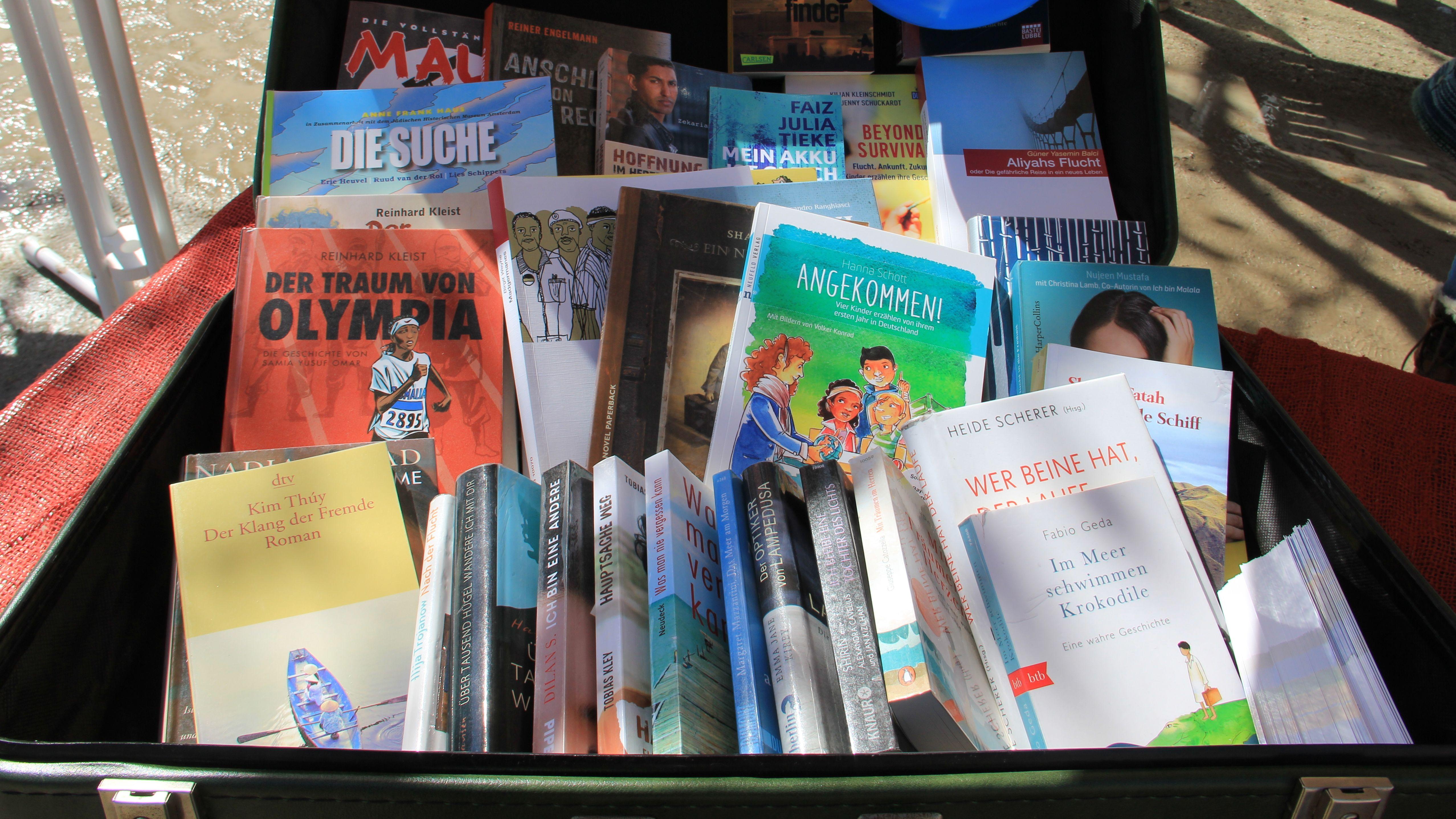 Lesekoffer von der Caritas Schweinfurt
