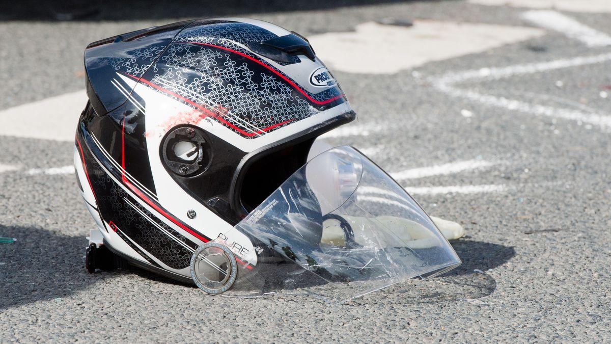 Motorradhelm (Symbolbild)