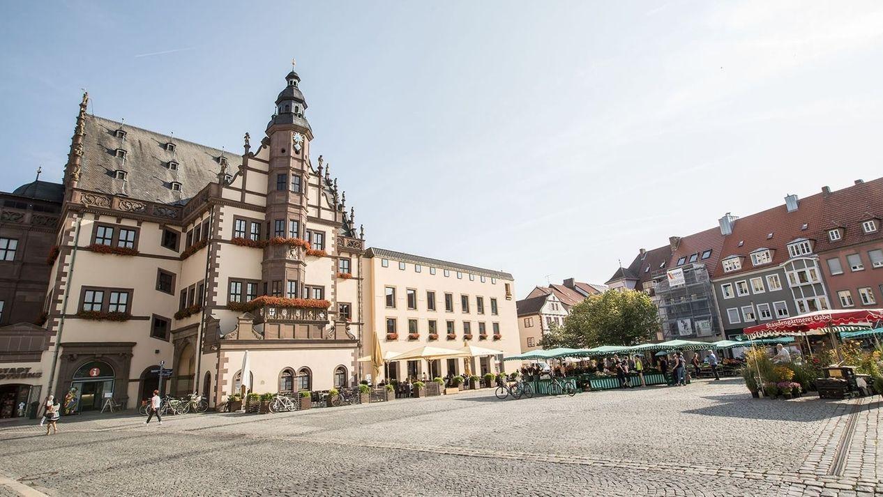 Marktplatz in Schweinfurt