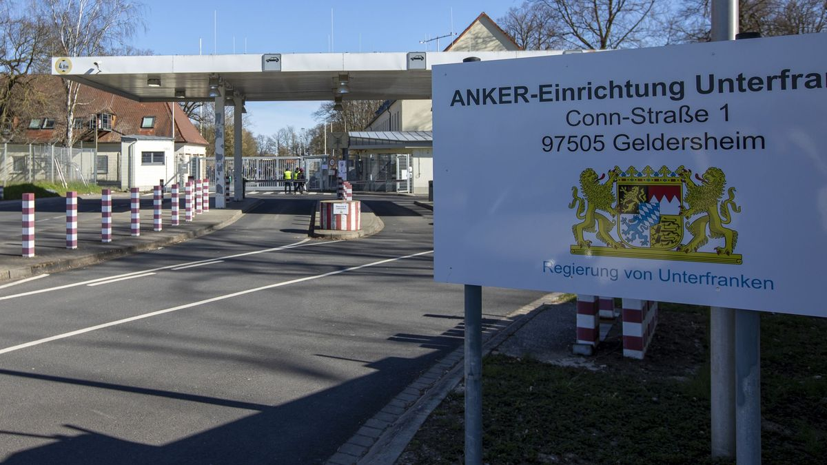 Das unterfränkische Ankerzentrum in Geldersheim