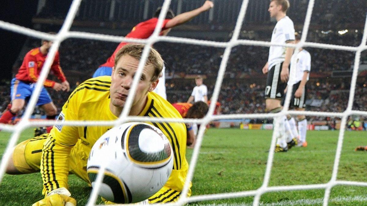 Neuer bei der WM 2010 im Halbfinale