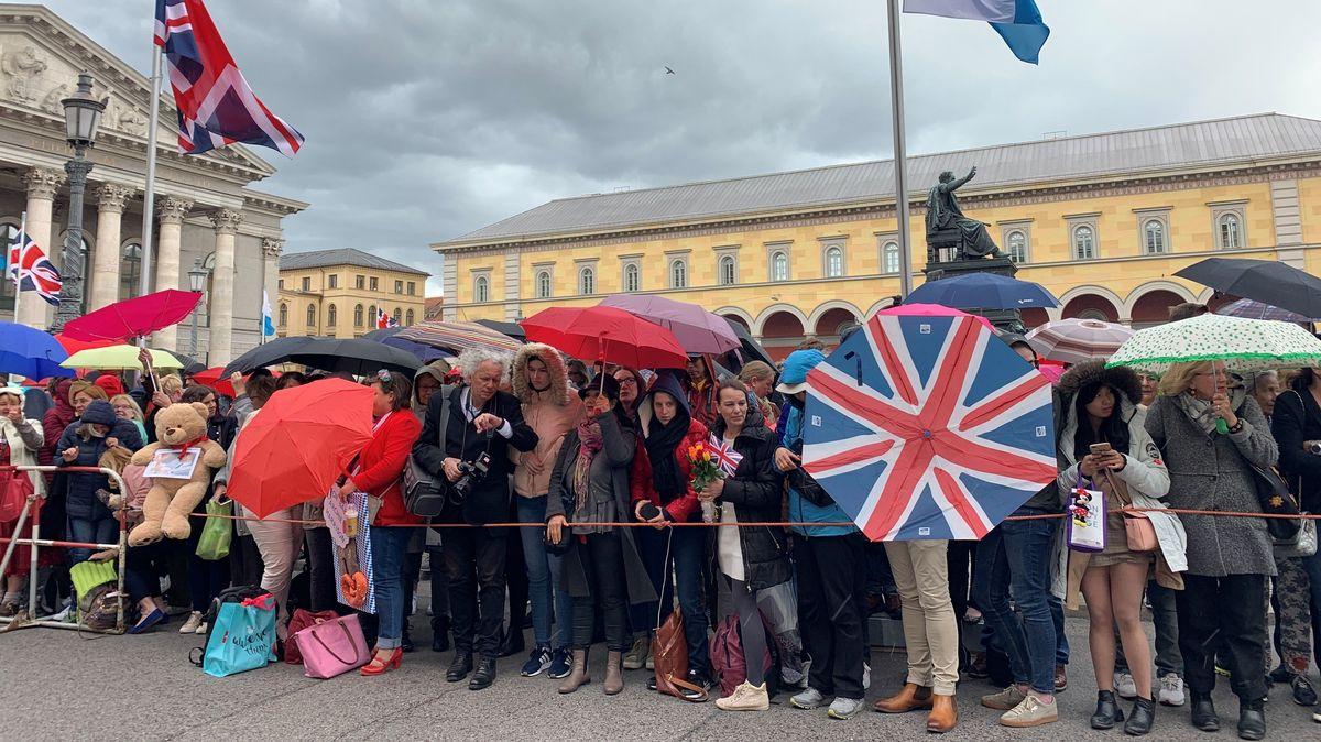 Besuch von Prince Charles und Camilla in Bayern