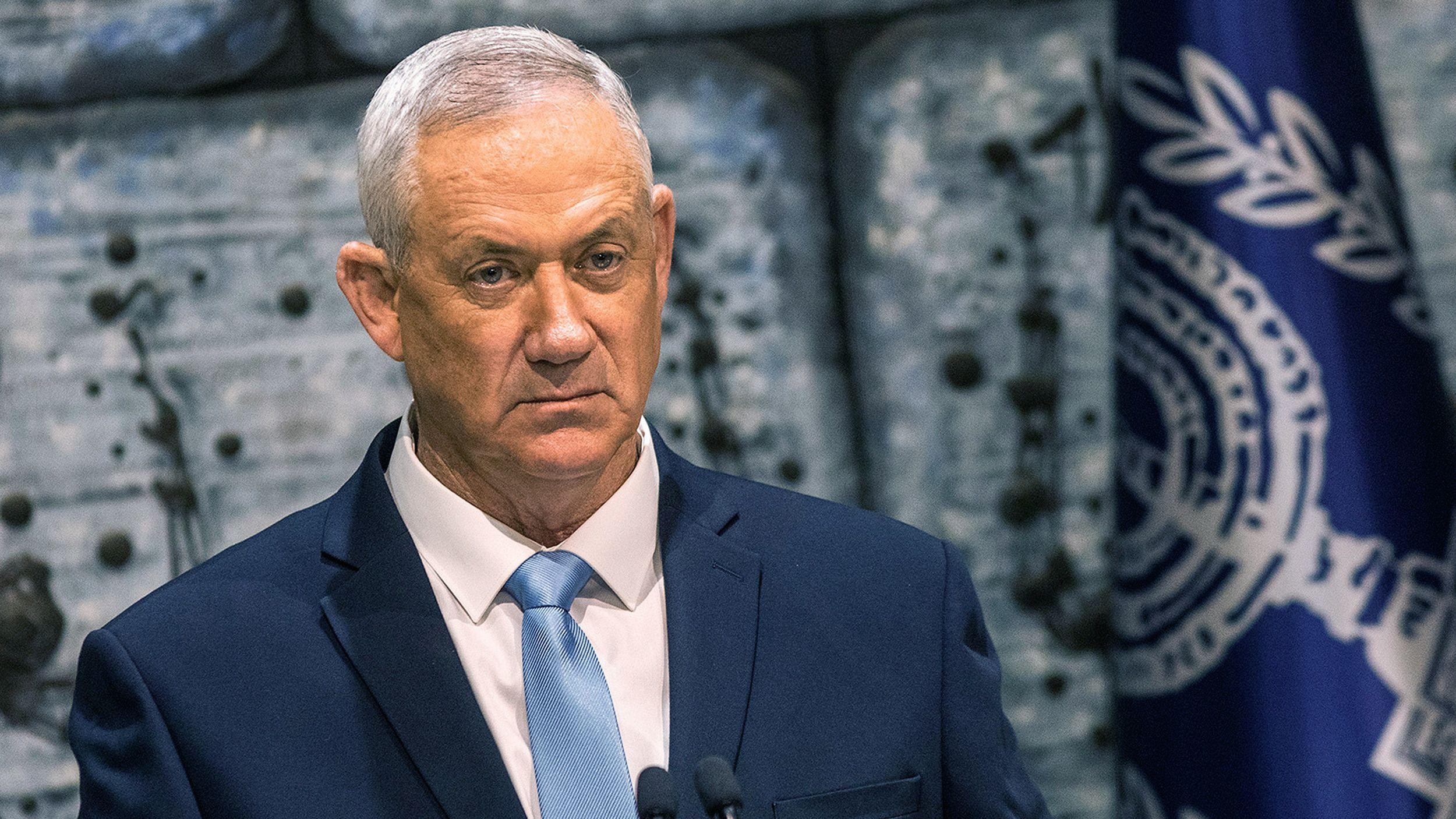 Der israelische Oppositionsführer Benny Gantz