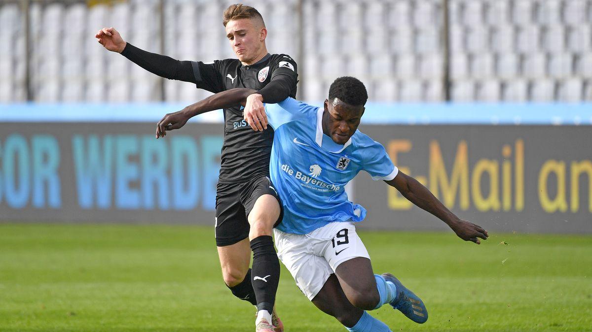 Spielszene TSV 1860 München - FC Ingolstadt