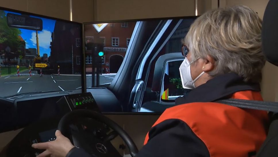 Digitaler Feuerwehrsimulator