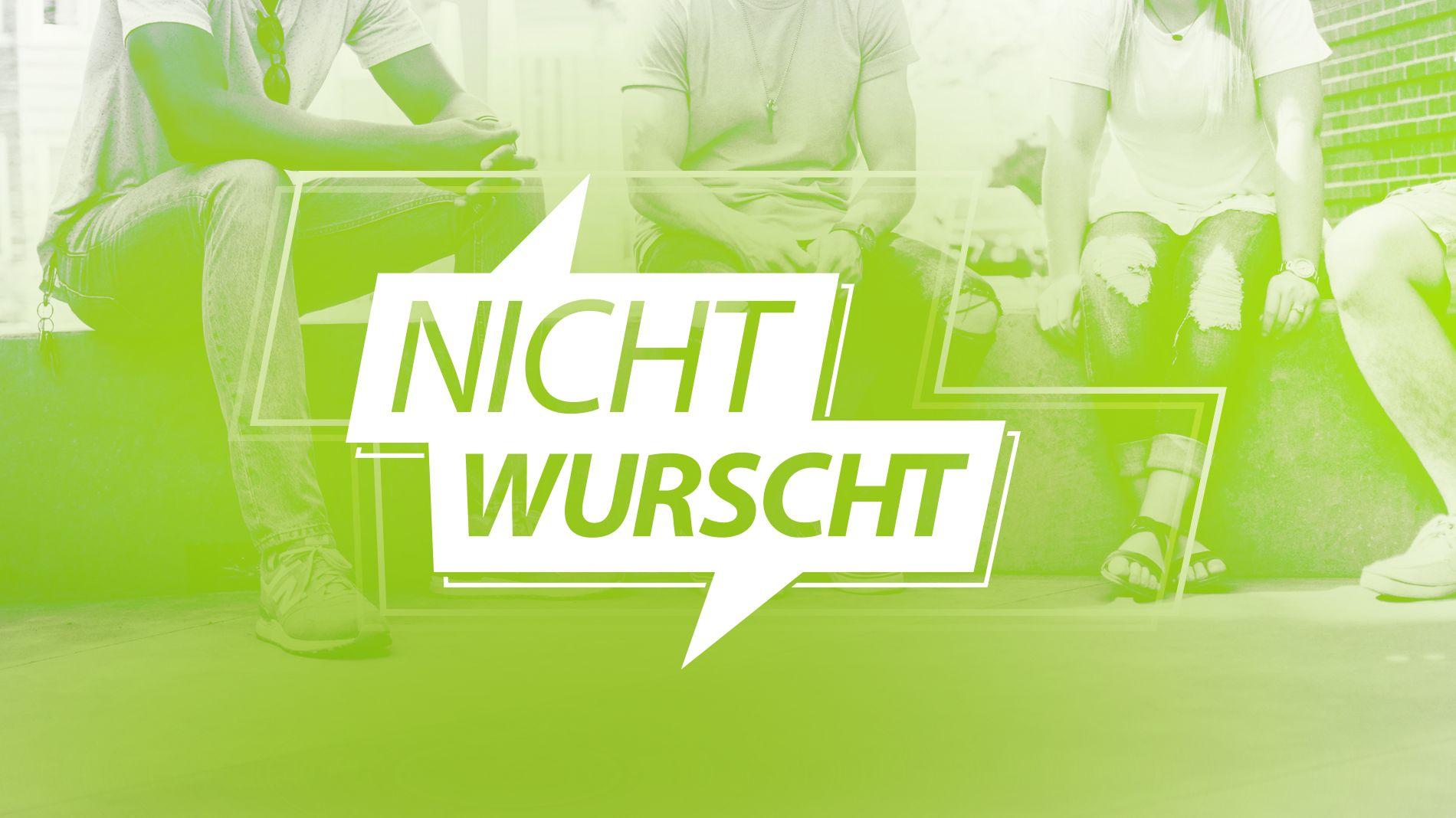 """Logo """"Nicht Wurscht"""""""