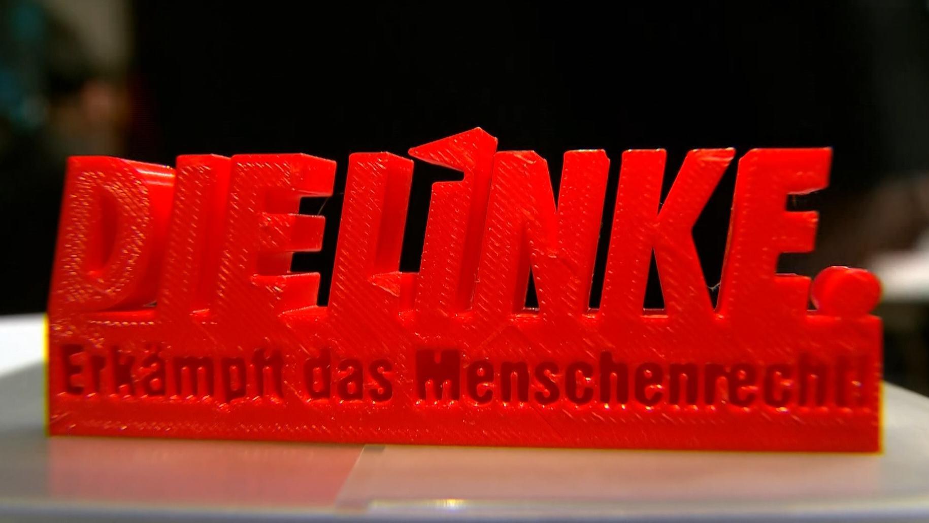 Slogan der Linken für Europa