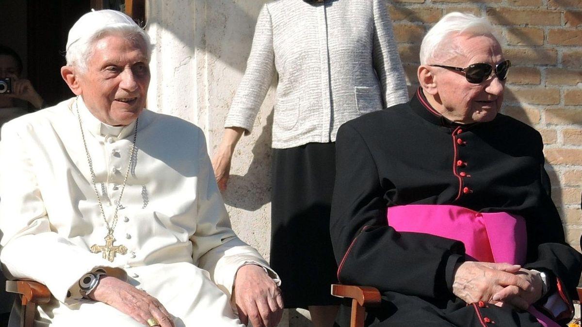 Joseph und Georg Ratzinger