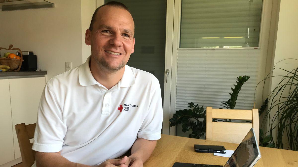Michael Wenig, stellvertretender Kreisgeschäftsführer des BRK Passau