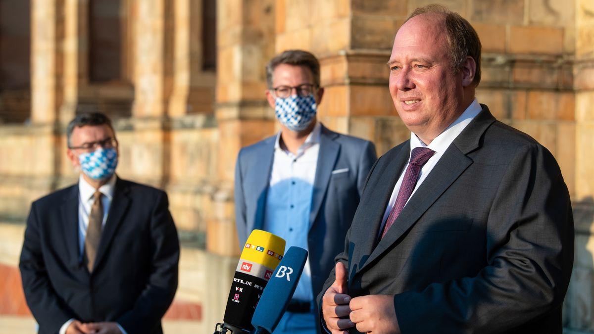 Bundeskanzleramtsminister Helge Braun (CDU) bei der Herbstklausur des CSU-Fraktionsvorstandes.