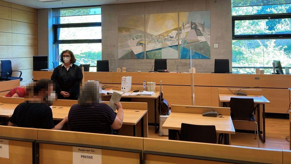 Prozess am Amtsgericht Würzburg