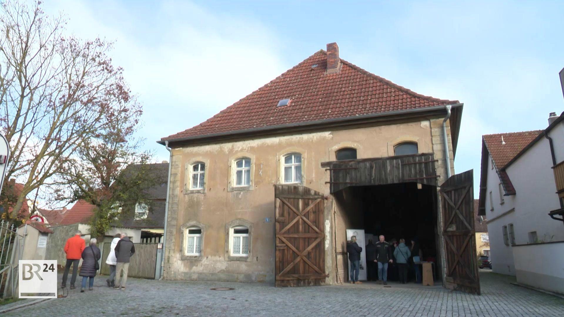 Die alte Synagoge in Mühlhausen