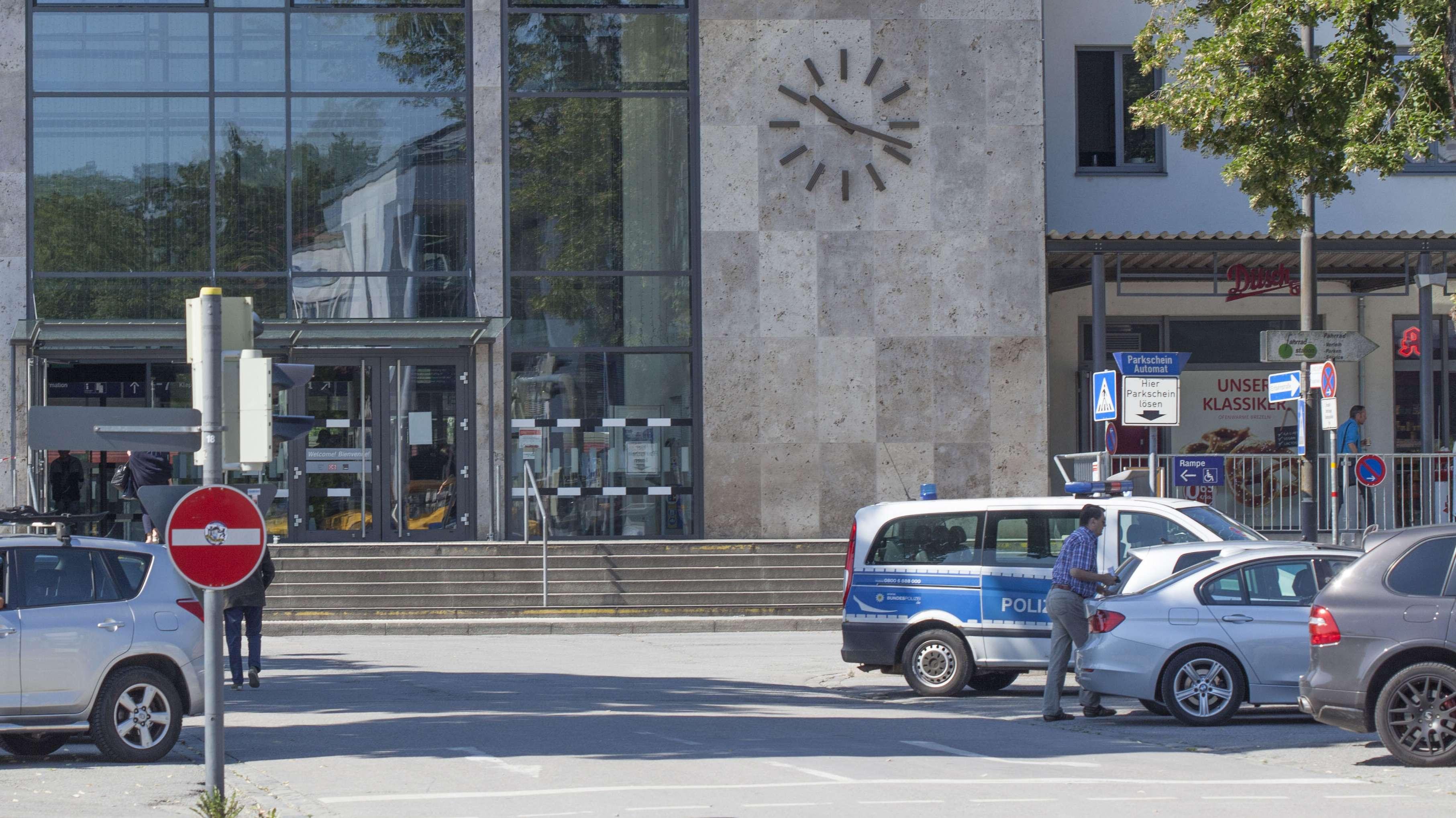 Der Bahnhof in Rosenheim (Archiv)