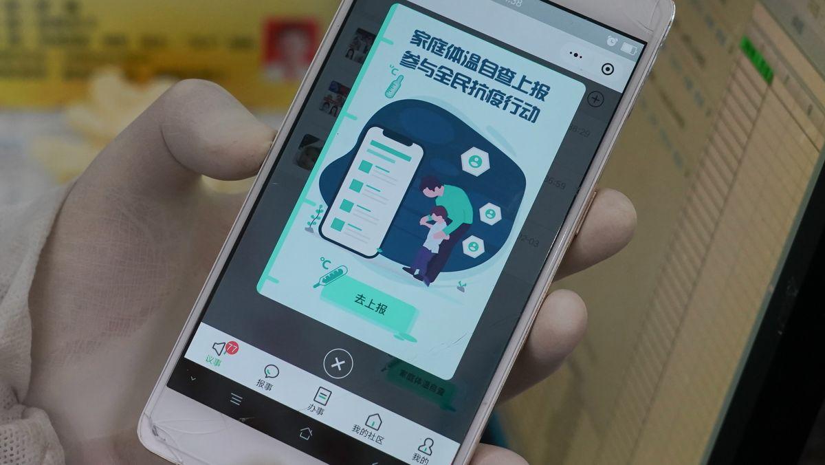 Chinesische Corona-App