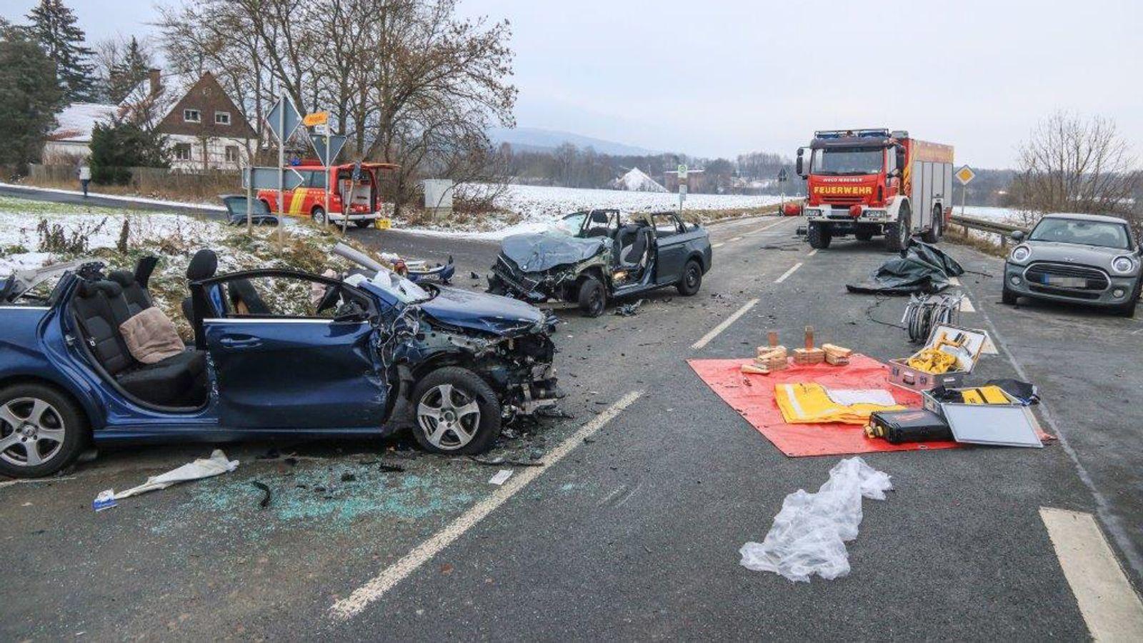 Autofahrerin bei Unfall in Untersteinach tödlich verunglückt