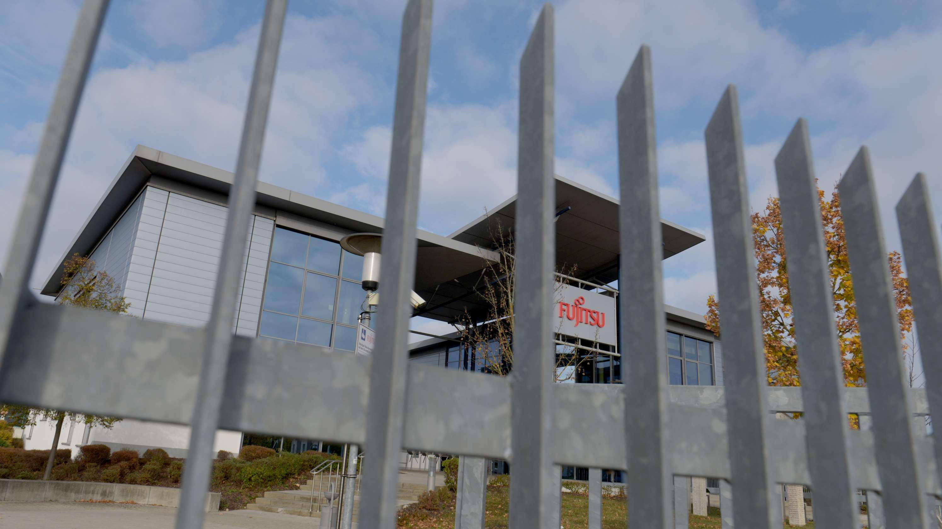 Der Standort des japanischen PC-Herstellers Fujitsu in Augsburg