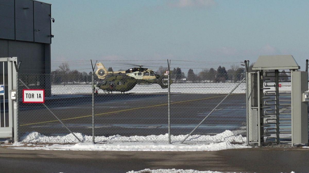Hubschrauber von Airbus-Helicopters in Augsburg