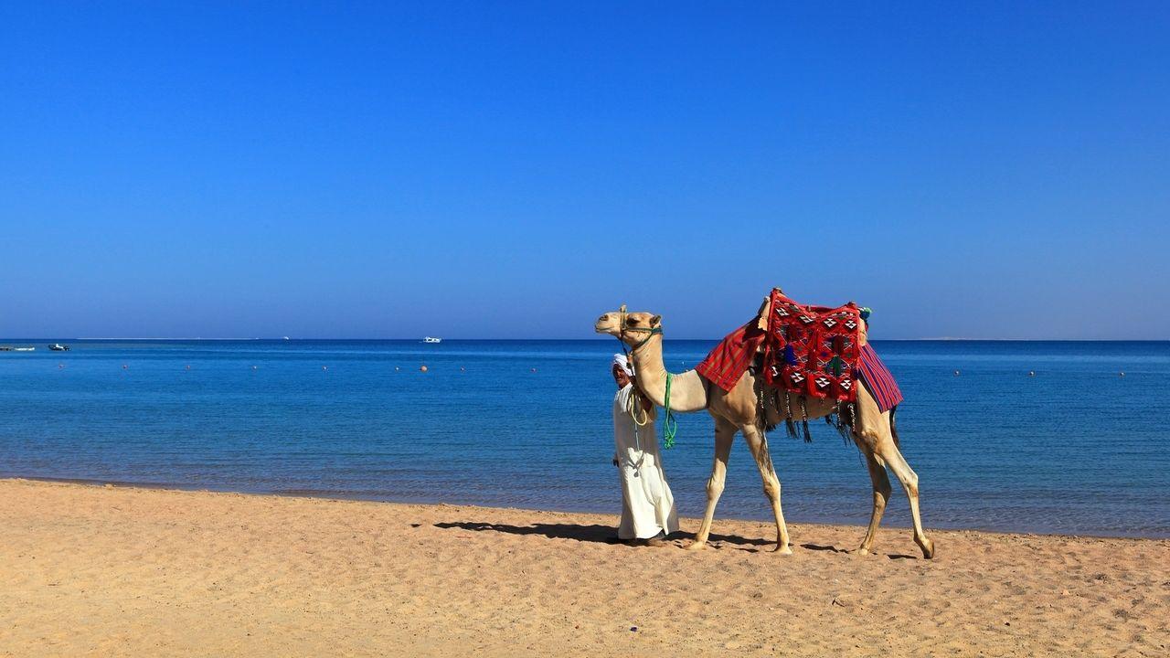 Strand in Ägypten (Symbolbild)