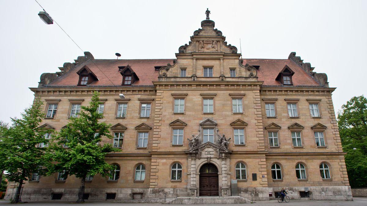 Das Landgericht in Regensburg von außen