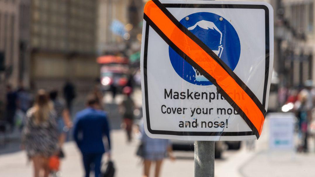 Die sinkenden Corona-Zahlen machen immer mehr Lockerungen möglich: In der Münchner Innenstadt konnte die Maskenpflicht bereits am 9. Juni aufgehoben werden.
