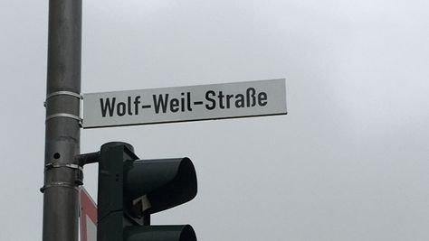 Trägt den Namen eines Holocaust-Überlebenden: die Wolf-Weil-Straße an der B15 westlich der Stadt Hof.