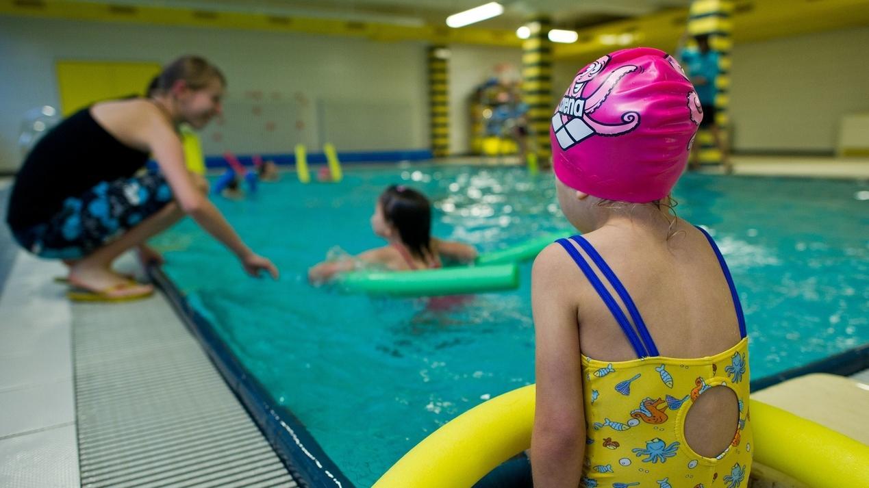 Symbolbild Kinderschwimmkurs