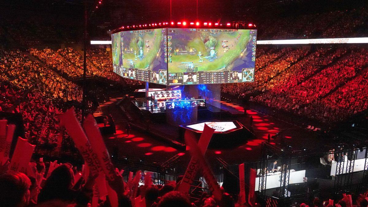 Finale der League of Legends-Weltmeisterschaft in Paris